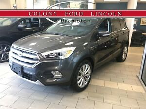 2017 Ford Escape FORD COMPANY DEMO, 0% FINANCE OR LEASE!