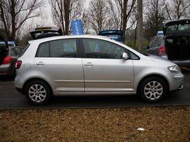 VOLKSWAGEN GOLF PLUS 1.4 (80PS) Luna Hatchback 5d 1390cc (silver) 2007