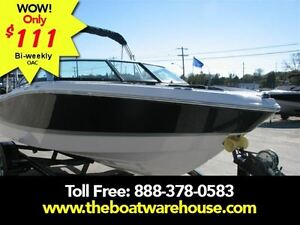 2016 four winns H180 Mercruiser 135HP Trailer Kingston Kingston Area image 1