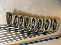Titleist 762 irons and ping rapture 10.5 driver