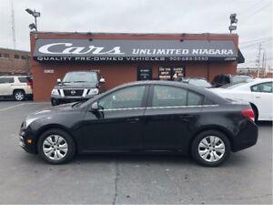 2016 Chevrolet Cruze 1LT   NO ACCIDENTS   LOW MILEAGE   BLUETOOT