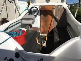 Fishing boat ready to go