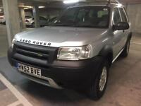 2003 landrover freelander automatic td4 lady owned bmw engine low mls immaculate cond new tyres barg