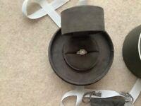 Vera Wang 18ct White Gold 70pt Diamond engagement ring