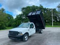 2004 Ford F-350 Dump Truck 6.0 Diesel 12` Dump Body PowerStroke Diesel Dump