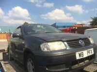 2000 VW Polo petrol manual 3 dr breaking for spares