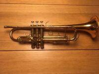 Trumpet / Conn 1000B USA / Rose Brass Bell / Good working order
