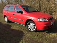VAUXHALL ASTRA ESTATE - 1 YEARS MOT - FULL SERVICE HISTORY