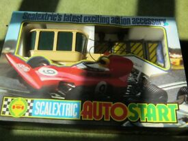 SCALEXTRIC STARTER - NEVER USED