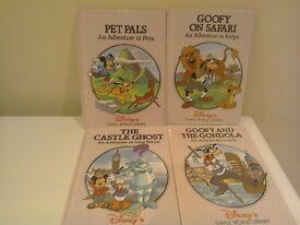 Four Disney Adventure Books