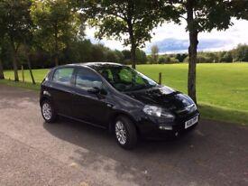 Fiat Punto Evo 1.2 8v MyLife 5dr (start/stop) petrol 61 reg black 58000 miles Manual