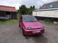 Fiat Cinquecento, Metallic Pink