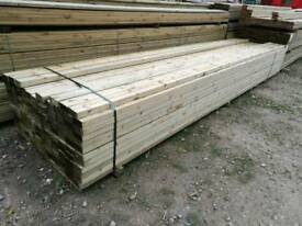 4x2 Tanalised Timber C24 - 4.8mtr Lengths