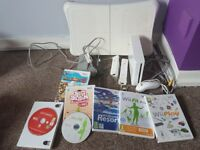 Nintendo Wii games console and games