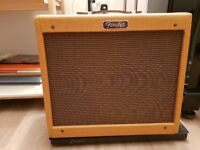 Fender Blues Jr Tweed, with Eminence Cannabis Rex Speaker