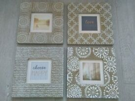 Set of 4 Matching Framed Pictures from Next