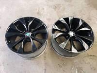 Genuine bmw x5 alloys FRONT 10J