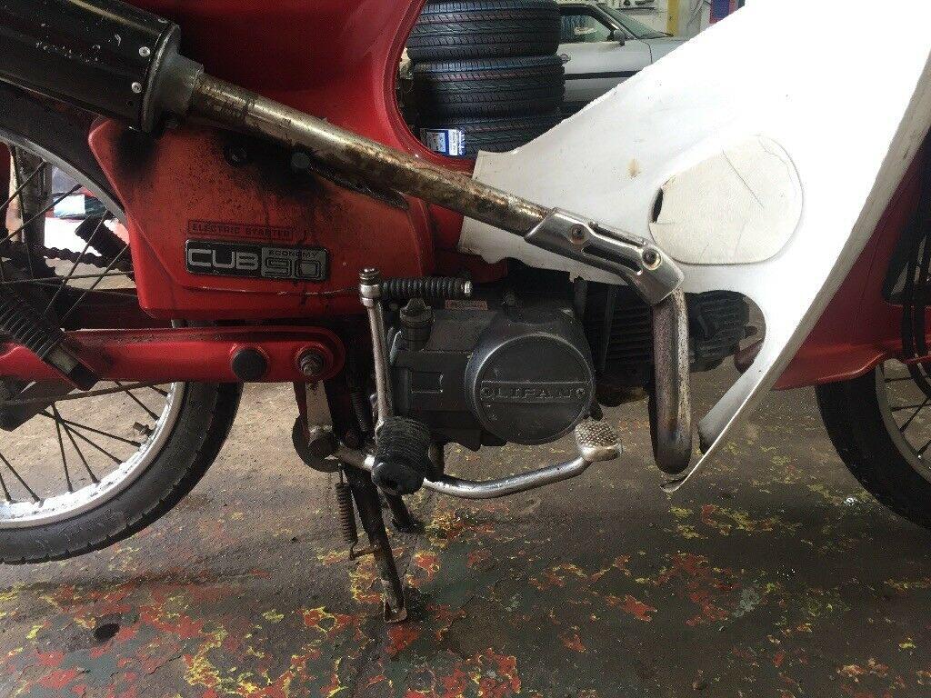 honda crunch c90 cub 110 engine