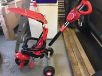 Smart Trike in Red