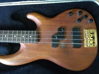 Fender Precision Bass Lyte Deluxe Natural Mahogany