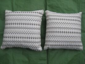 Brand New Set of Two Firm Quality Cushions - £5.00 each or 2 for £8.00