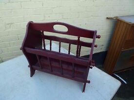 Magazine Newspaper Rack Delivery Available £3.00