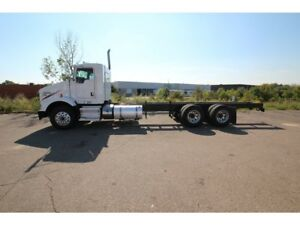 2013 Kenworth T800 26-28 FT CHASSIS