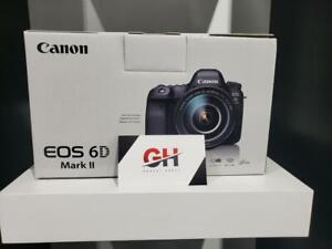 Store Sale - Canon EOS 6D Mark II DSLR Camera (Body Only), Brand New In Box