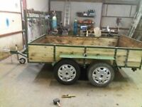 9FT X5FT TWIN AXLE TRAILER