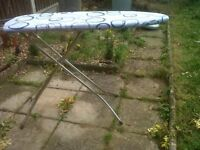 Excellent solid metal ironing board -