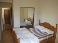 1 doublebed room in a nice and cozy flat 5min walk from the center