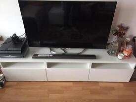 IKEA TV bench stand with 3 drawers
