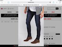 Super skinny fit jeans 28 waist