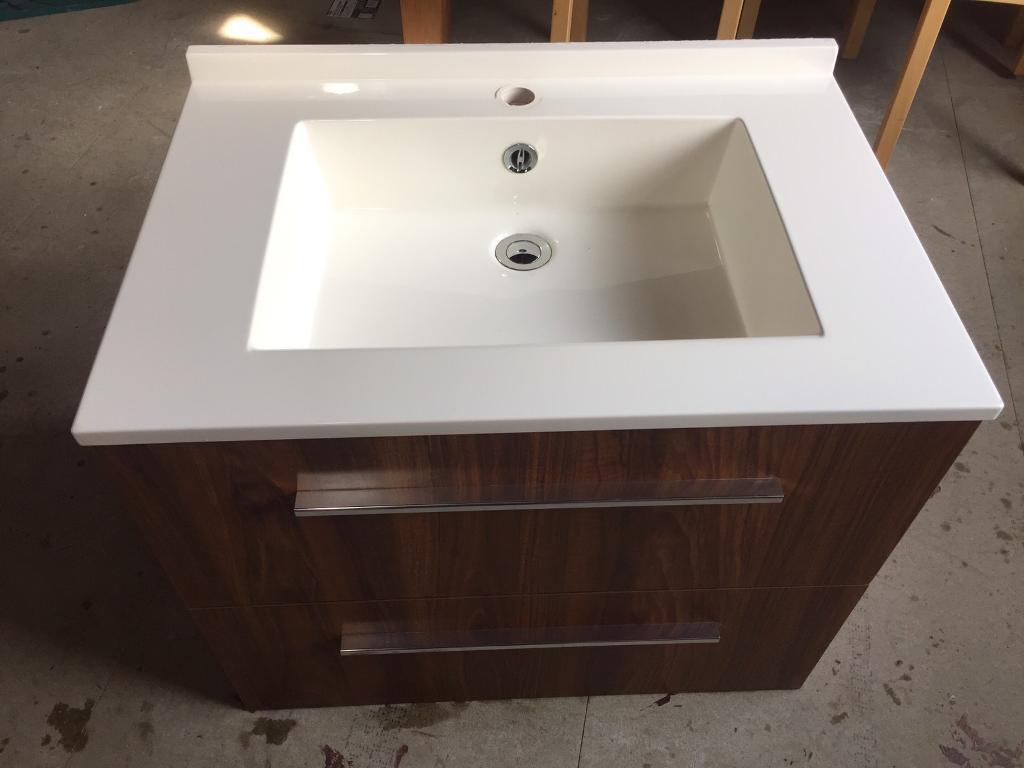 Bathroom Sinks Edinburgh ambiance bain bathroom sink / basin unit. cost £1095 new. | in