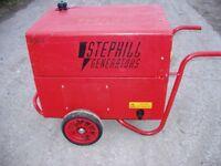 Stephill SE 6000D 6 KVA 230/115 Volt Silenced Diesel Generator