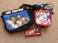 3 One Direction bags & umbrella
