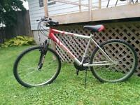 18 speed SuperCycle mountain bike -- barely used
