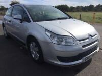 BARGAIN! Citroen c4 coupe, long MOT ready to go