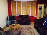 3 Piece Suede Suite of Furniture
