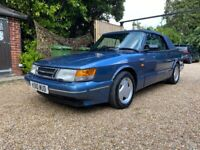 Exceptional Saab, 900S 16v Turbo Convertible with Aero body kit