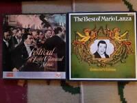 4 x Box Sets Opera Vynal Records