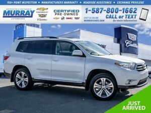 2012 Toyota Highlander **Leather Interior!  Sunroof!**