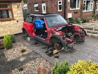 Mini Cooper S JCW undamaged bodyshell. Race or rally project.