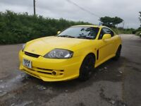 Hyundai coupe Limited edition yellow