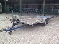 Tilt Bed Car/Plant Transporter Trailer (Bateson) 16x 6.2 with 2ton Winch