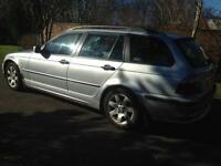 BMW 318 TOURING ESTATE 10 MONTH MOT IDEAL FAMILY CAR OR WORK HORSE may swap