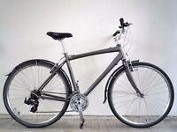 "(2217) 700c 21"" Lightweight Aluminium GIANT HYBRID COMMUTER MEN BIKE BICYCLE Height: 180-200cm"