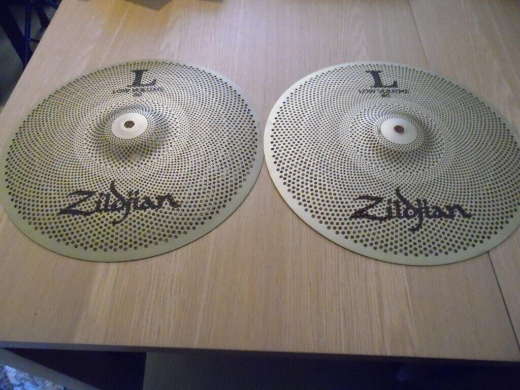 zildjian low volume l80 13 hi hat cymbals for drum kit in peterculter aberdeen gumtree. Black Bedroom Furniture Sets. Home Design Ideas