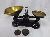 Vintage Libra Scale Co black cast iron scales