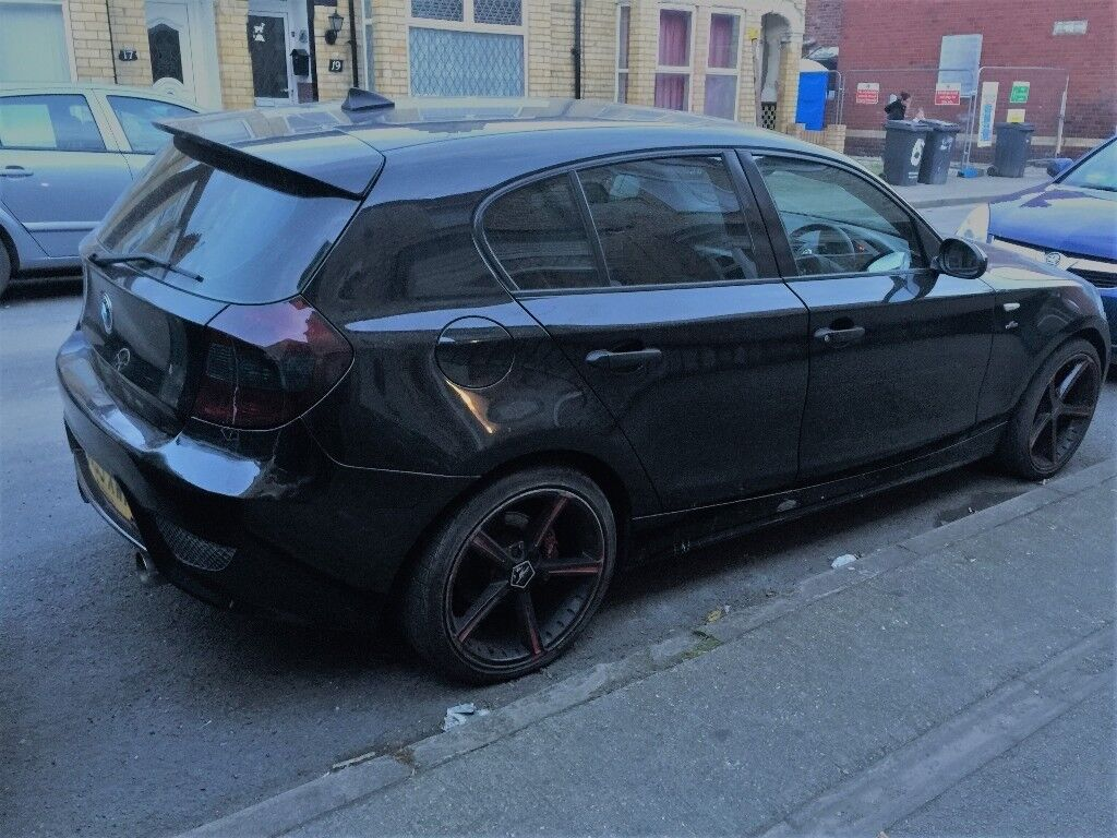 BMW 116 Black open to offers NOT audi